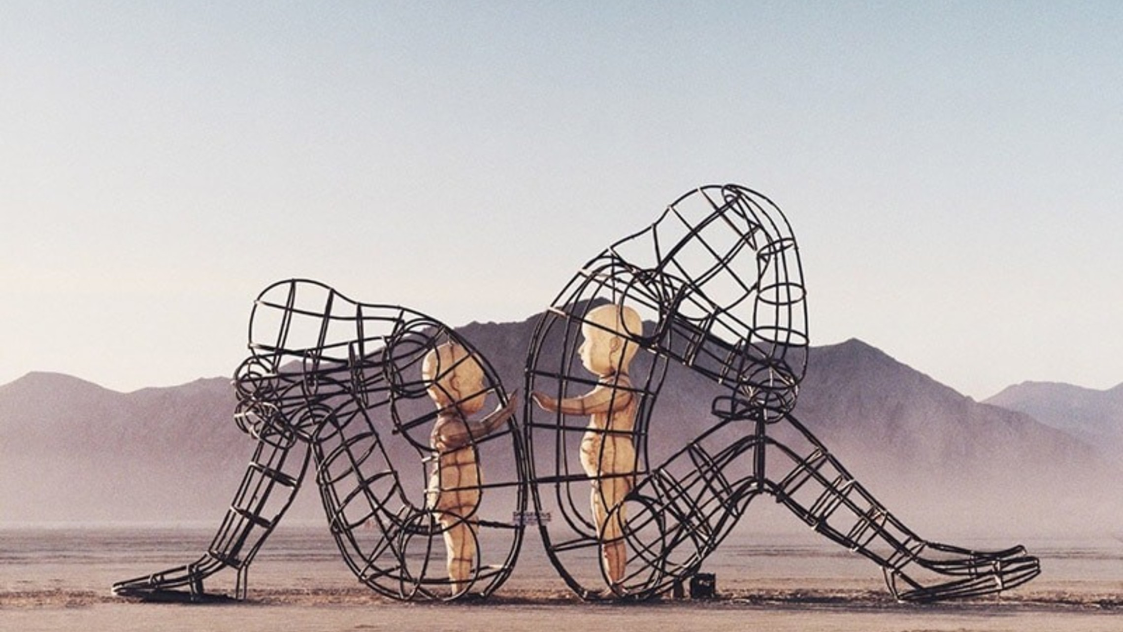 Burning Man Sculpture Inner Child Love Alexandr Milov2