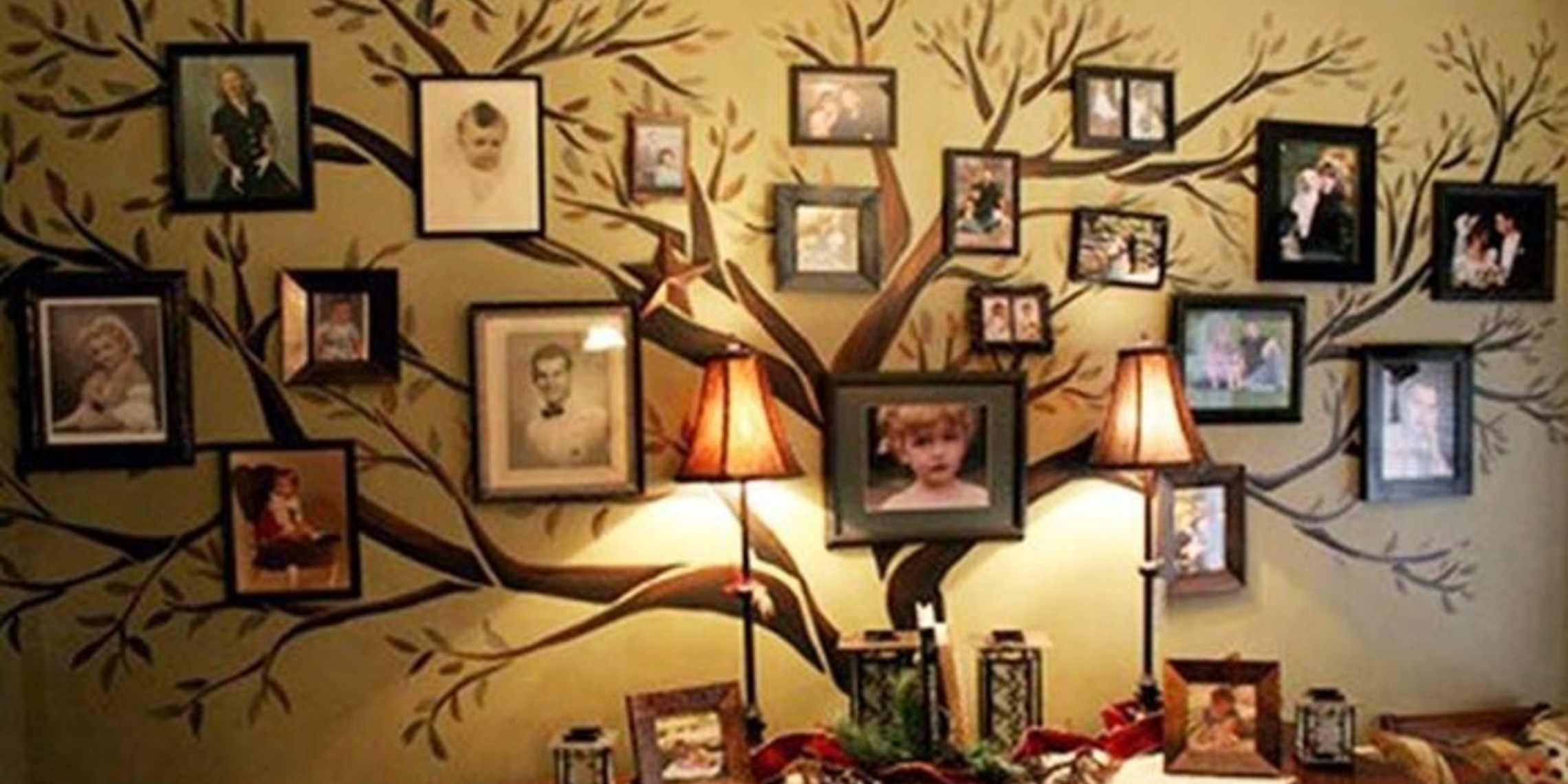 Family Tree Wall Art Wonderfuldiy12